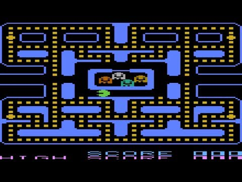 ATARI 8BIT SIR PACMAN AKA PAC MAN 83 CLONE Pd By Martin Day atr zip