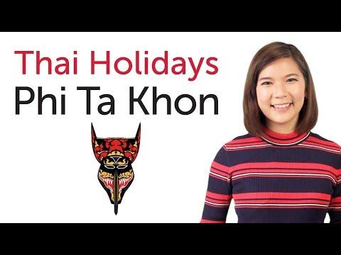 Learn Thai Holidays - Phi Ta Khon