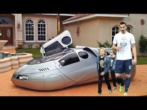 Zlatan Ibrahimović MİLYONLARINI Nasıl Harcıyor?