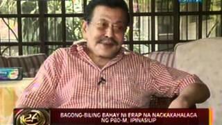 24 Oras:  Bagong-biling bahay ni Erap sa Maynila na nagkakahalaga ng P80-M, ipinasilip