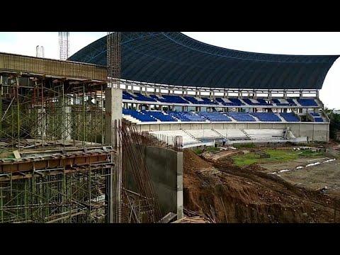 Psis semarang menuju liga 1.stadion jatidiri semarang progres renovasi