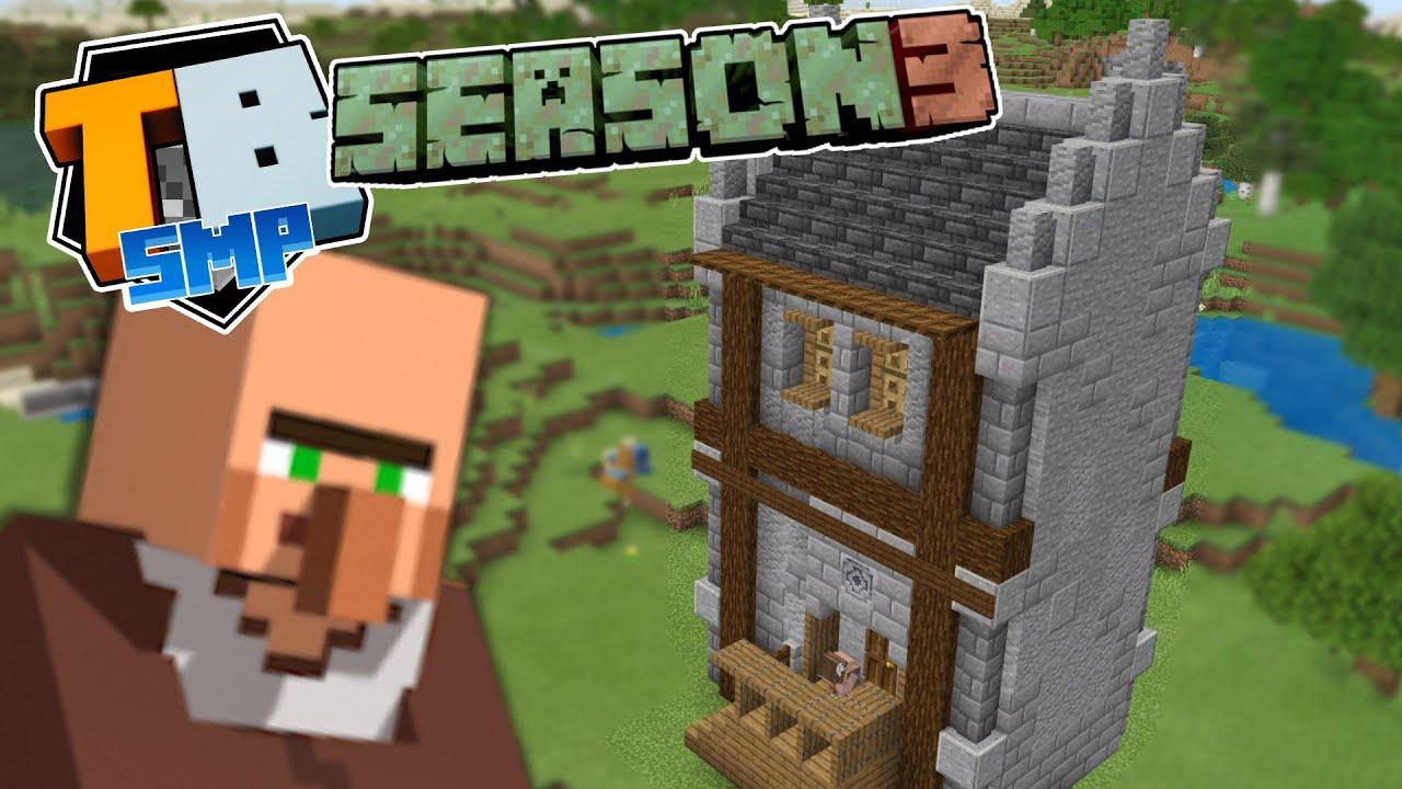Let's revamp a minecraft village! - Truly Bedrock season 3 - minecraft 1.17 letsplay episode 5
