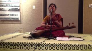 "Prema Bhat, Lec-demo ""Indian Classical Music and Emotions"" at the Jung Center, Houston"