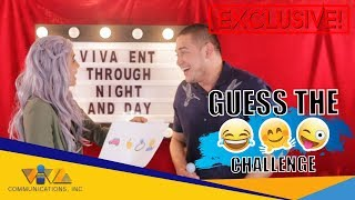 Guess the Emoji Challenge with Alessandra De Rossi and Paolo Contis! Who won??