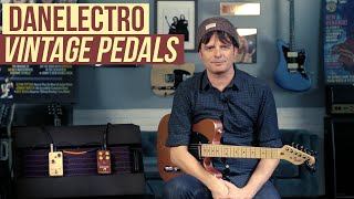 Danelectro - The Breakdown and The Eisenhower Fuzz pedals Demo