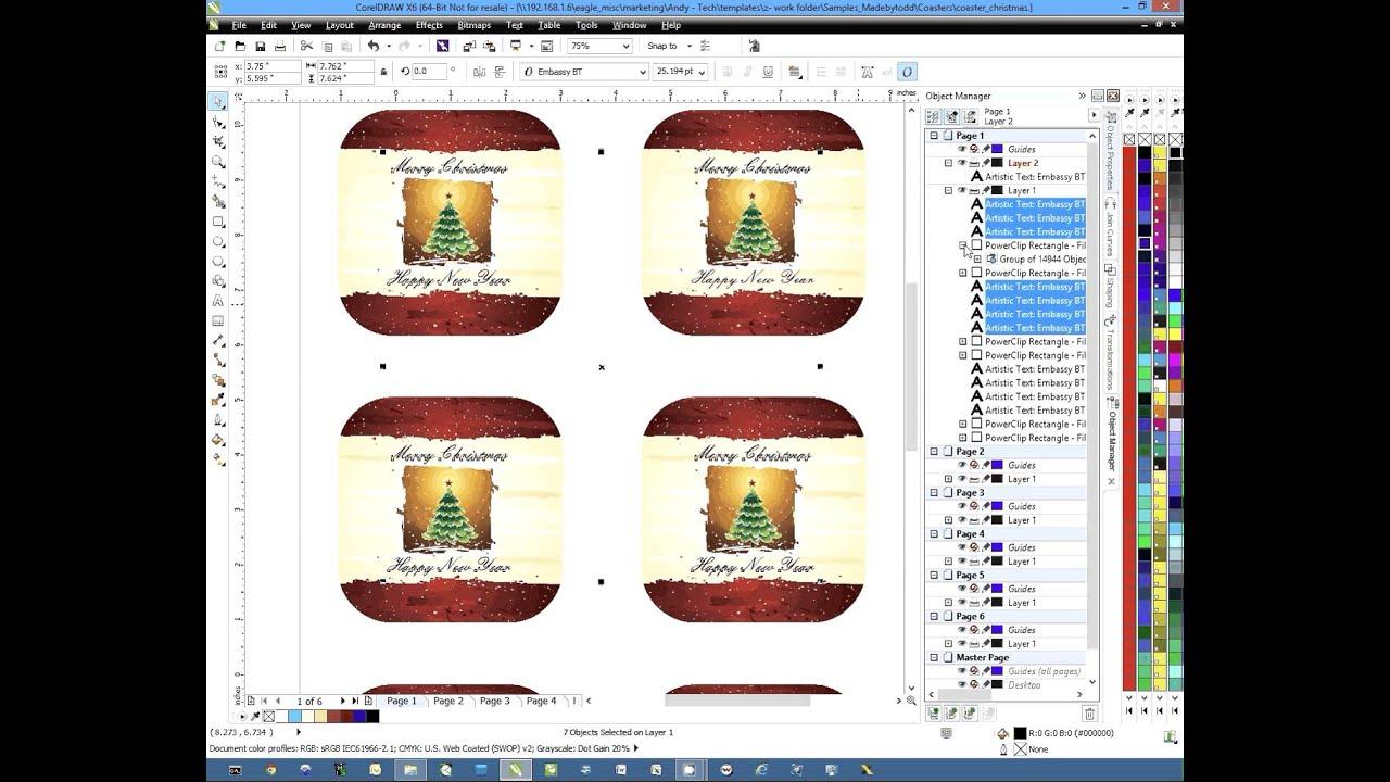 coreldraw x6 object transparency