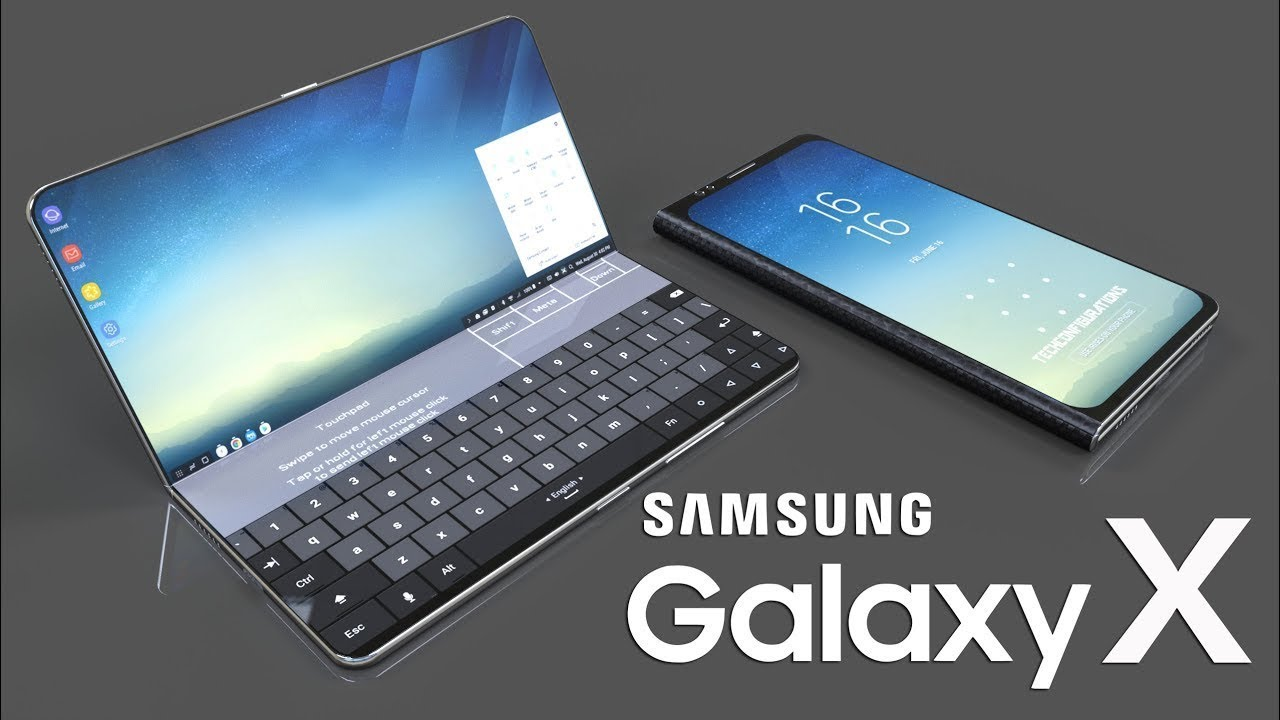 Samsung Galaxy X The Future Of Smartphones Most Updated Realistic Design Foldable