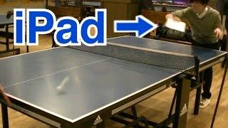 iPadは卓球のラケットにちょうどよかった。 thumbnail