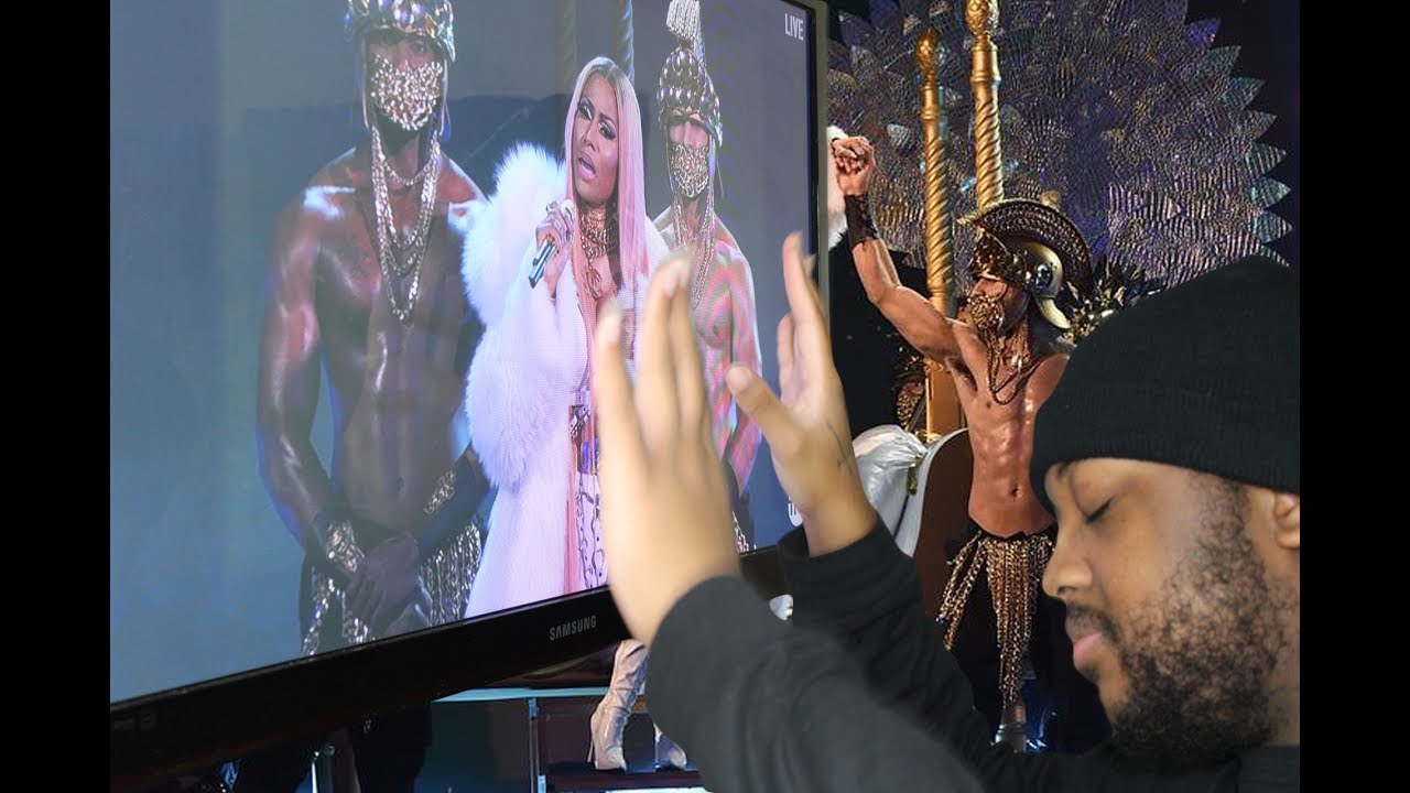 da1462ae30f0 Nicki Minaj NBA Awards 2017 Performance - YouTube