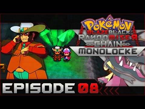 Pokemon Blaze Black Random Chain-Monolocke |#08|