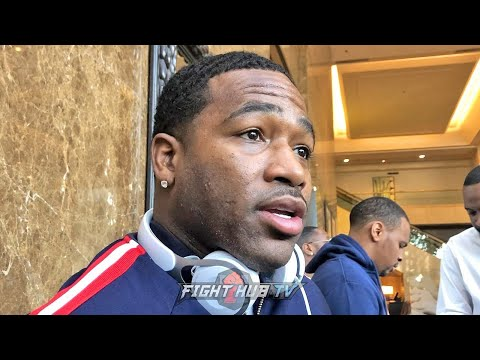 ADRIEN BRONER 'MAN **** KEITH THURMAN! TELL HIM TO GO GET HIS SPEECH TOGETHER!'