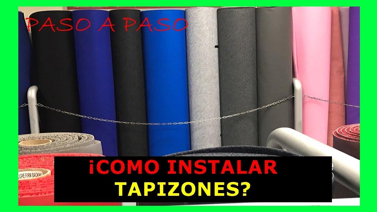 Como poner alfombra en el piso como instalar alfombra en casa alfombras 002 youtube - Como colocar alfombras ...
