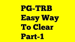 PG-TRB easy way to clear | Goal settings| planing|idea| tips for PG-TRB|