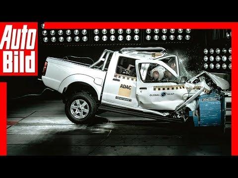 Crashtest Nissan NP300 Hardbody (2018) Null Sterne Schock!