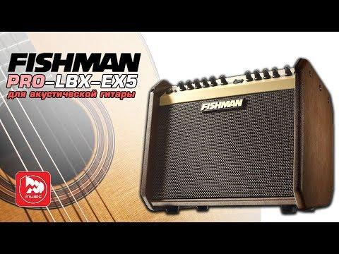 Комбик для акустики FISHMAN PRO LBX EX5