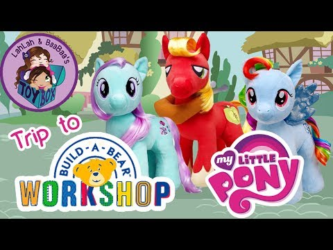 Let's Build My Little Ponies! ~ Big Mac, Minty & Rainbow Dash From Build-a-Bear Workshop