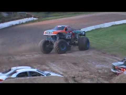 All American Monster Truck Tour - Iron Warrior (Donut Competition)