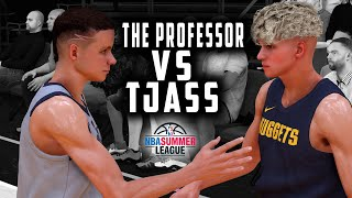 Tjass Vs The Professor! Trying Out For The NBA At The Summer League!