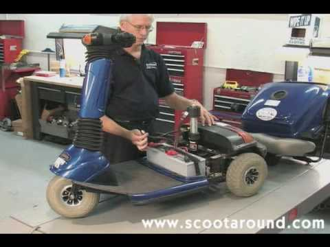 Pride Mobility Scooter >> How to Disassemble a Pride Celebrity Scooter for Transport - YouTube
