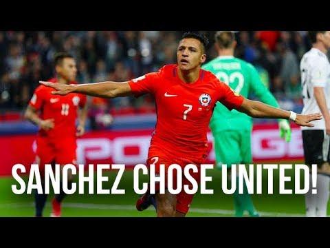 Alexis Sanchez Chose Manchester United! Warm Down Podcast Danny Higginbotham