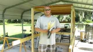 How To Build A Garden Trellis Cheap!!!