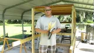 How To Build A Garden Trellis Cheap!!!