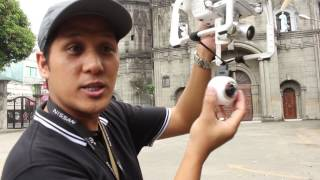 Mounting a Samsung Gear 360 camera to your Phantom 3 advanced (the cheapest way)
