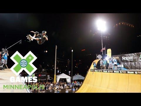 Skateboard Vert Final: FULL BROADCAST   X Games Minneapolis 2018