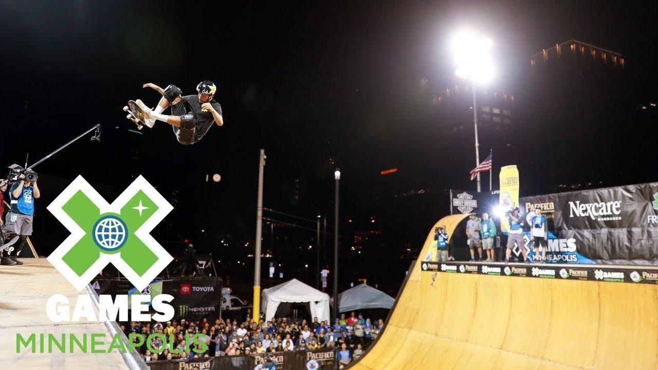 Skateboard Vert Final: FULL BROADCAST | X Games Minneapolis 2018
