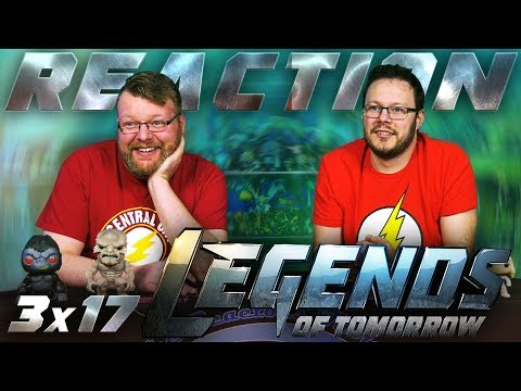 Legends of Tomorrow 3x17 REACTION!!
