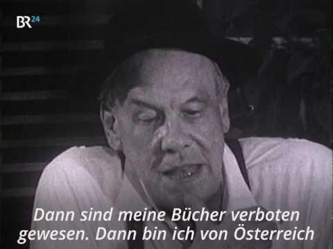 BR24-Zeitreise: Die Flucht Oskar Maria Grafs vor den Nazis