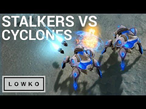 StarCraft 2: STALKERS vs CYCLONES! (Bo3)