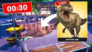 *NEW* DUSTY DIVOT LIVE EVENT HAPPENING RIGHT NOW! (FORTNITE BATTLE ROYALE)
