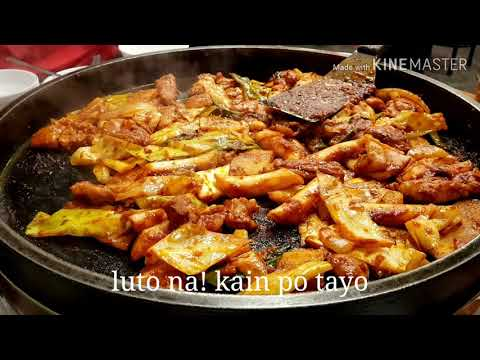 NAMASYAL SA PARK+DAK-GALBI(KOREAN SPICY STIR-FRIED CHICKEN FOR DINNER)#1stVLOG in SOUTHKOREA