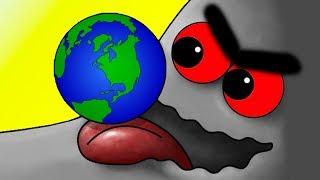 Tasty Planet #7 ФИНАЛ / Глазастик СЪЕЛ ВСЕЛЕННУЮ, как Tasty Blue - игровой мультфильм #КРУТИЛКИНЫ