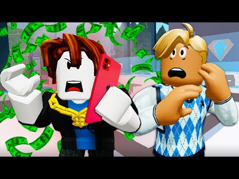He Adopted A Spoiled Noob! A Roblox Movie (Story)