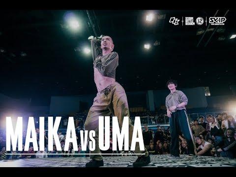 HipHop Best16 3 Maika vs Uma�04 OBS vol.12 Day3