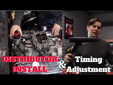 How to Install a Distributor in a Big Block Chevy | How to Adjust Timing on a Chevy