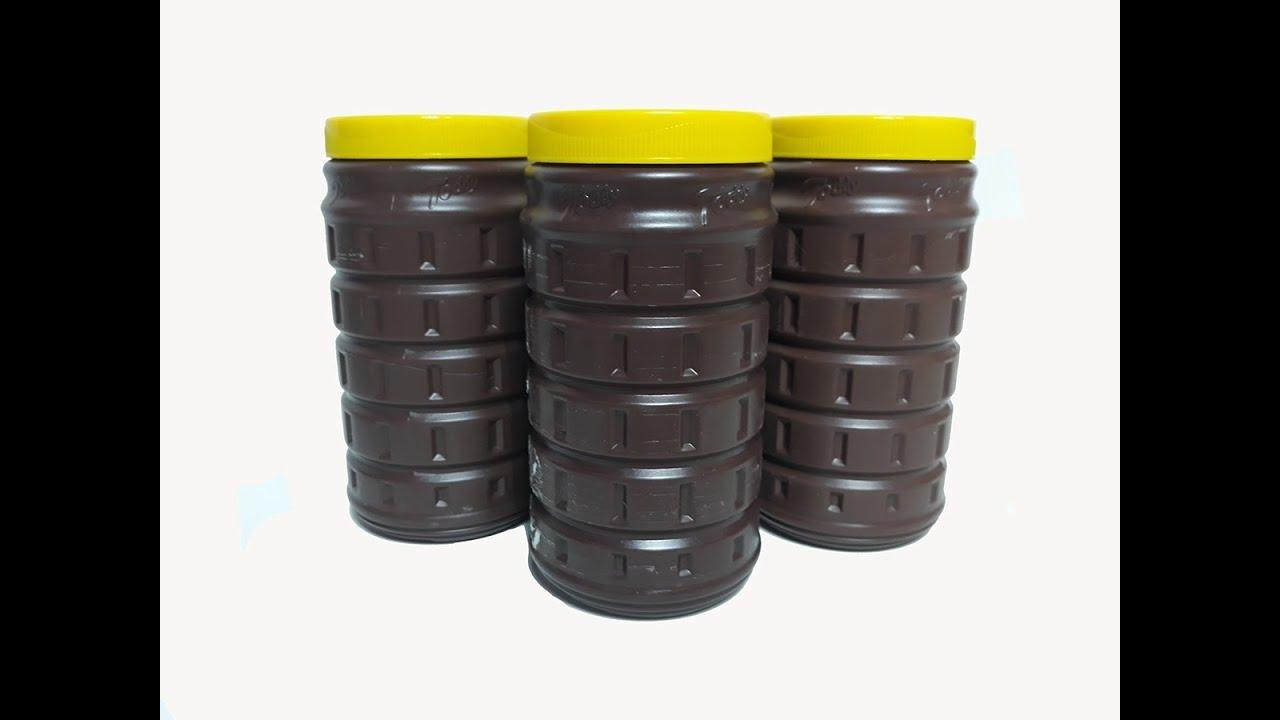 2 Ideias c/ Potes de Chocolate Toddy. Artesanato, Decoração, RECICLAGEM. Faça e Venda 🤑