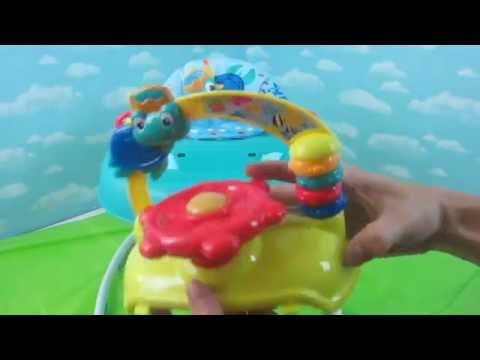 Baby Einstein Sea And Explore Walker Un Boxing Baby In