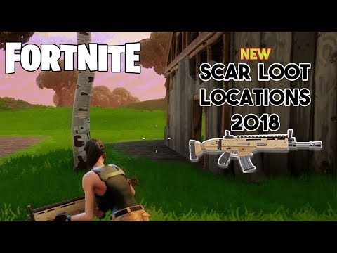 BEST SCAR LOOT LOCATIONS (Fortnite 2018)