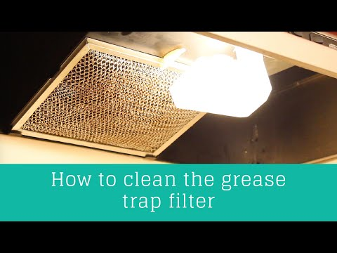 How to clean the hood range filter! | Clean Casa