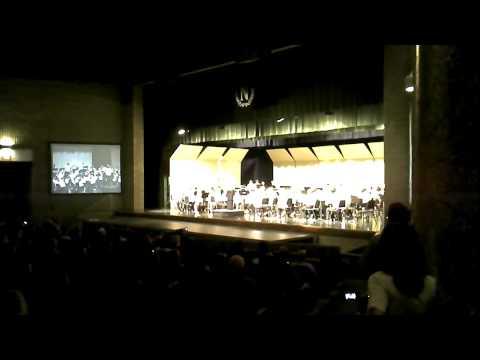 Novi Meadows School 7th grade band