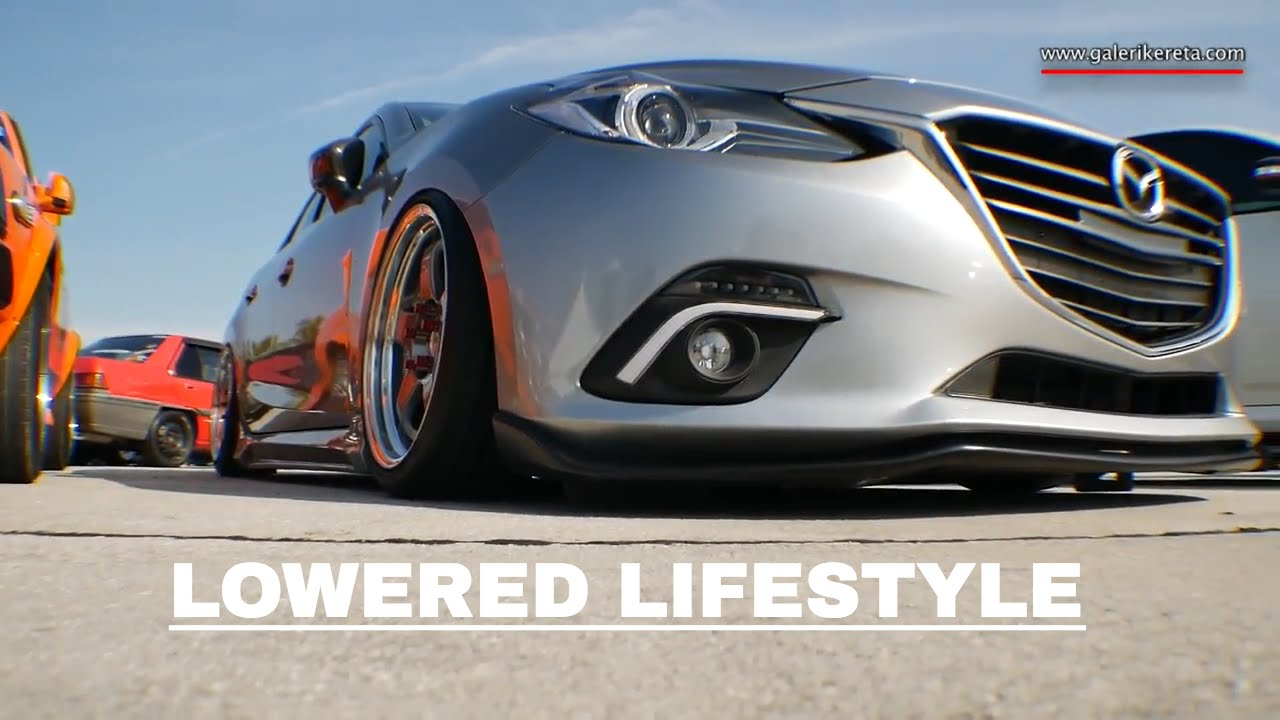 Mazda Grand Touring >> Mazda 3 Sedan SUPER Lowered Lifestyle | Speed Junkies 2016 - YouTube