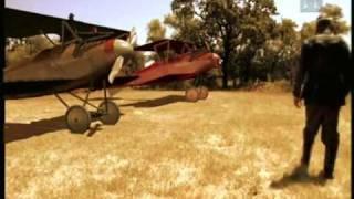 Der Rote Baron und sein Kampfflugzeug - Manfred von Richthofen