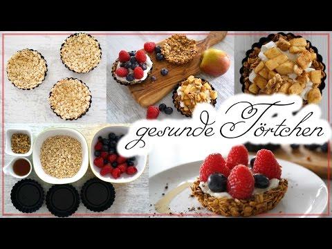 Gesunder Nachtisch – Backen für Anfänger – Törtchen selber machen – Fitness Snack