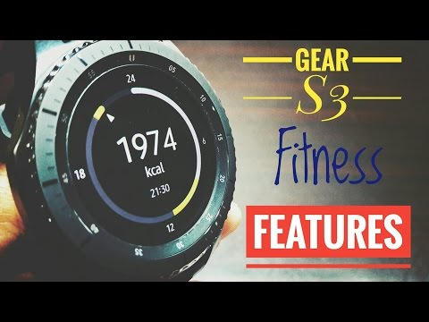 Samsung Gear S3 Frontier fitness features walkthrough!