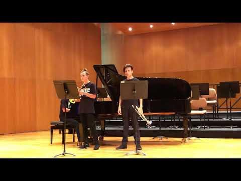 Сен- Санс, Болеро, исполняют Александр Рублёв (Москва) и Матвей Овчинников (Санкт - Петербург)