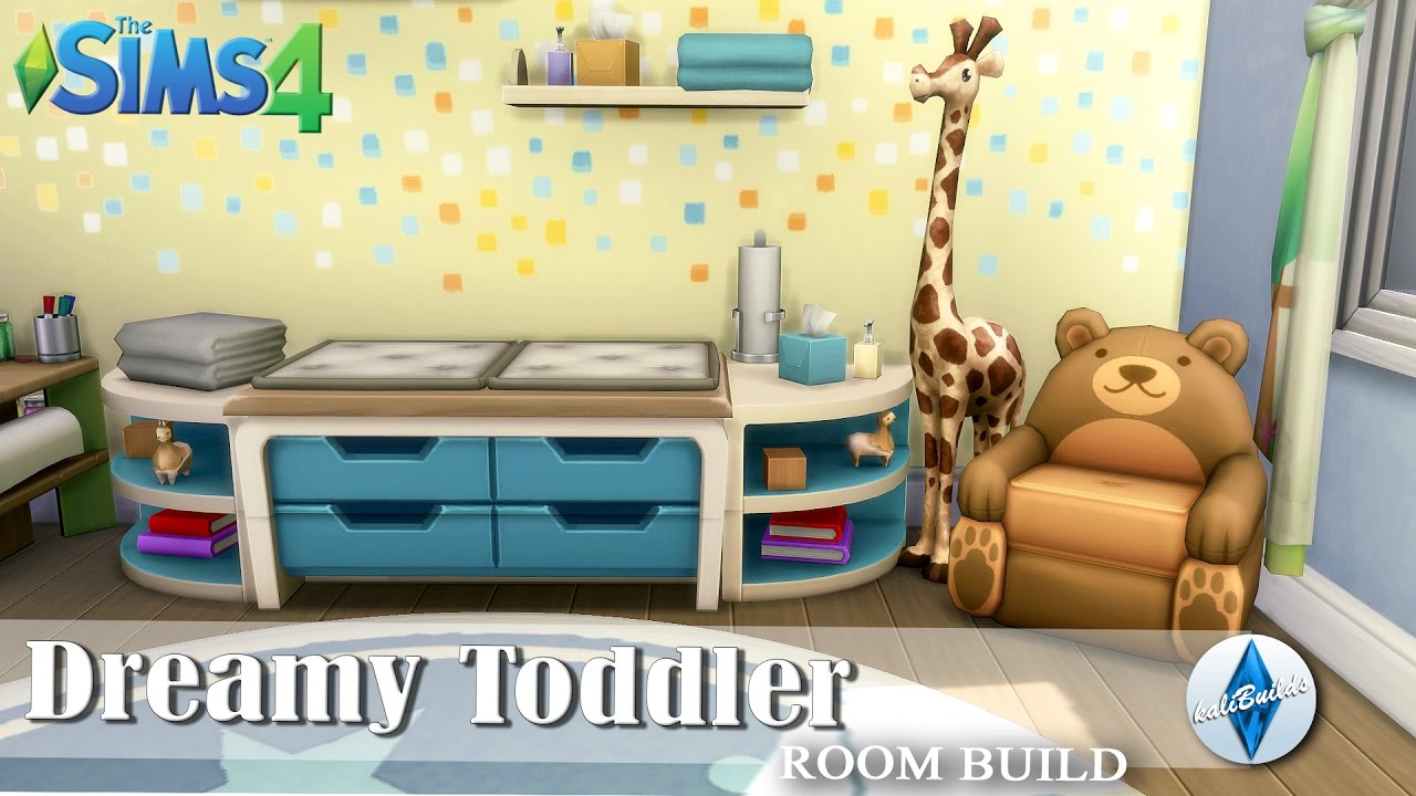 THE SIMS 4: Room Build | Dreamy Toddler Room - YouTube