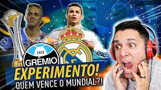 GRÊMIO VS REAL MADRID!!! QUEM VENCE O MUNDIAL DE CLUBES!?! *simulação* 🔥😱